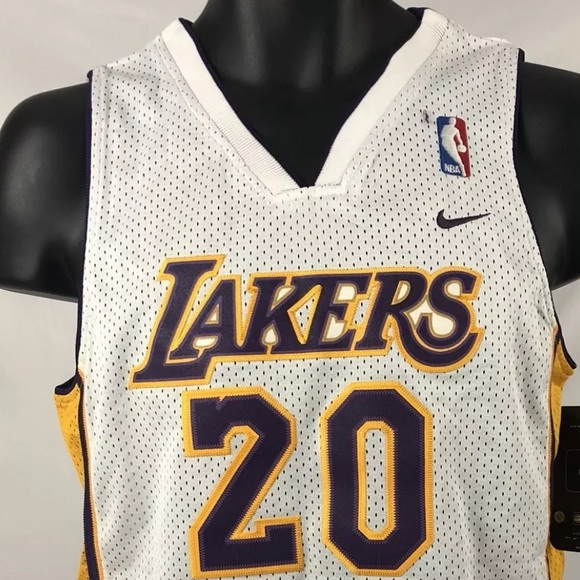 57cfca925e8 LA Lakers Gary Payton #20 Authentic Jersey. M_5bf218c3bb761548dc37796e
